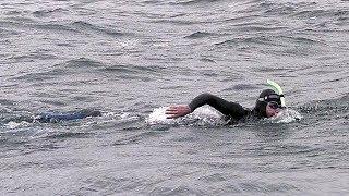 Пловец Бенуа Леконт переплывёт Тихий океан ради защиты экологии