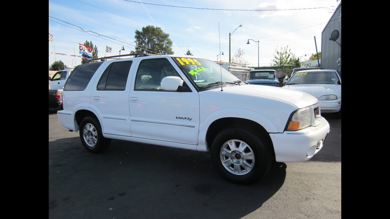 hight resolution of 2000 gmc envoy jimmy 4x4 sold