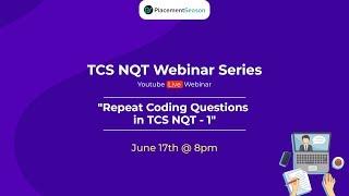 TCS Ninja NQT Repeat Coding Questions in - Part 1