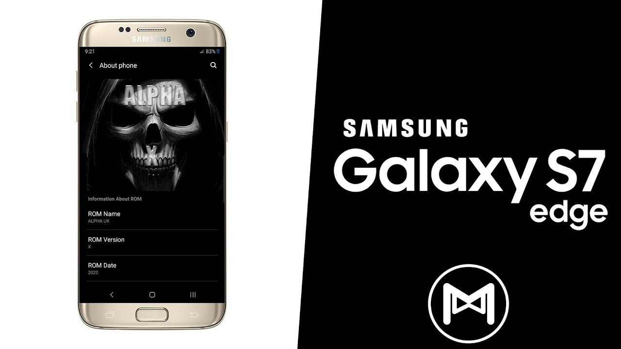 Samsung Galaxy S7 Edge   Alpha X   NFE Port - One UI   Android 9 Pie ROM