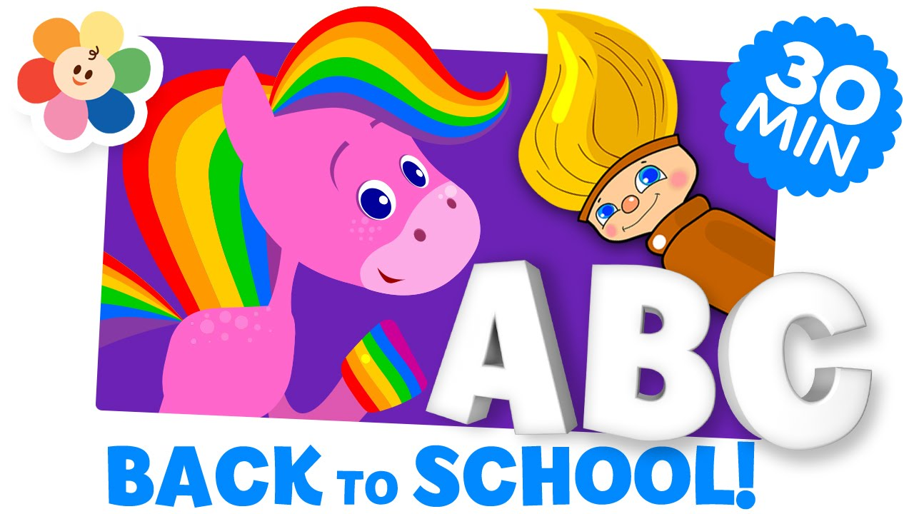 back to school learning videos preschool cartoons for kids