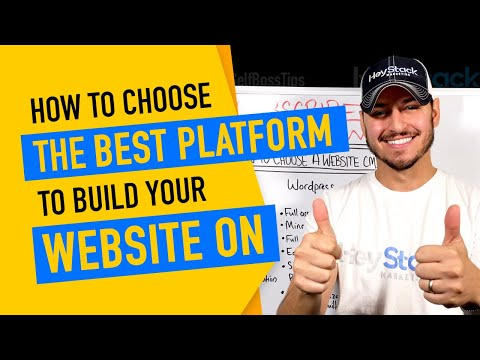 How To Choose The Best Platform To Build Your Website On From Wordpress To Shopify And More