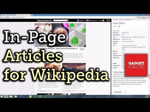 Get Instant Wikipedia Articles Without Leaving the Webpage You