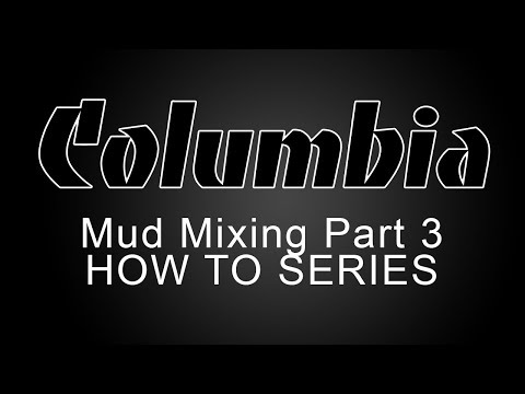 Columbia Mud Mixing - Flat Boxes & Nail Spotter - Part 3 of 3