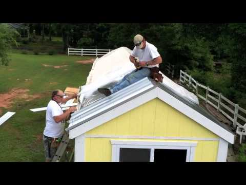 Install A Metal Roof On Your Tiny House