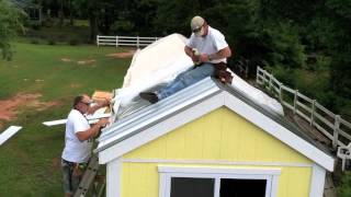 How-to Install A Metal Roof On Your Tiny House (part 2 Of 2)