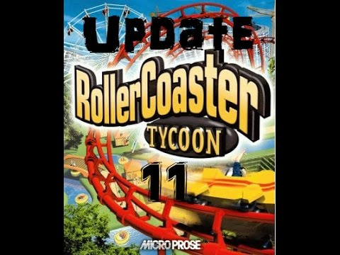 Roller Coaster Tycoon Deluxe First Auction Park Update 11-Fixing Looping Star. |