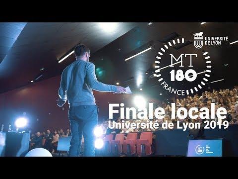 MT180 2019 - Finale locale Université de Lyon