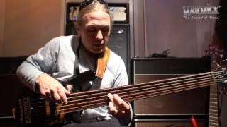 Steve Bailey on Artificial Harmonics Technique @ Musikmesse 2012