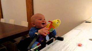 Laughing Baby - Dad Makes Baby Laugh