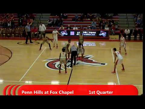 WPIAL Boys Basketball - Penn Hills at Fox Chapel