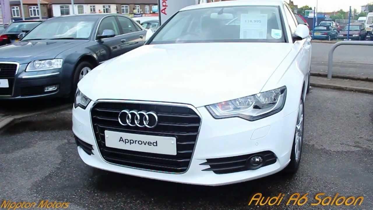 2013 Audi A6 Saloon White
