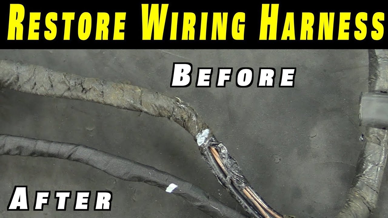 maxresdefault how to restore any wiring harness youtube  at fashall.co