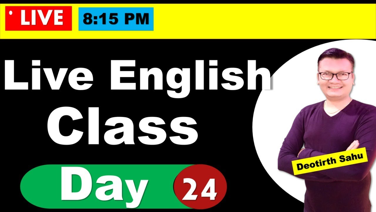 Day-24 | Free Spoken English class reloaded | Online English speaking course with Dev Sir