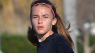 12 YEAR OLD is a BEAST Soccer Player! CRAZY Athlete | KYRA ANZALDO