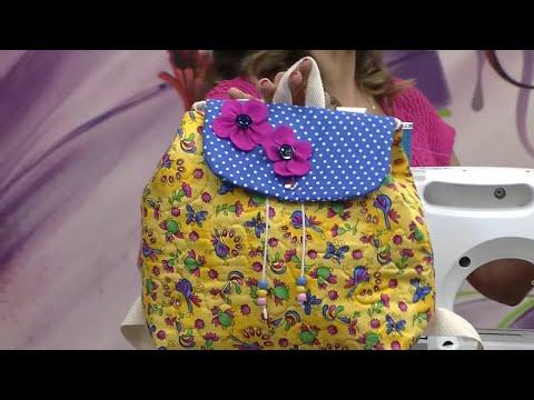 Mulher.com 09/10/2014 Llia Pavan - Mochila infantil de tecido Parte 1/2