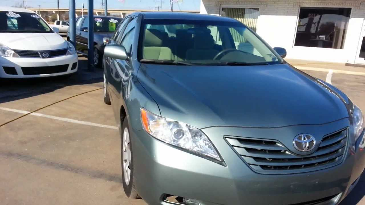 2008 toyota camry le for sale buy here pay here dallas texas youtube. Black Bedroom Furniture Sets. Home Design Ideas