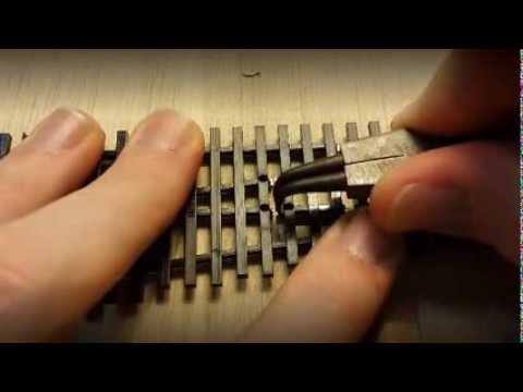 Peco code 83 - DCC conversion - YouTube