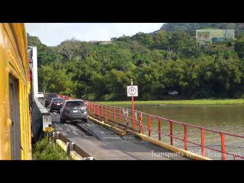 Panama Canal Railway - GM EMD F40PH Panama to Colon-