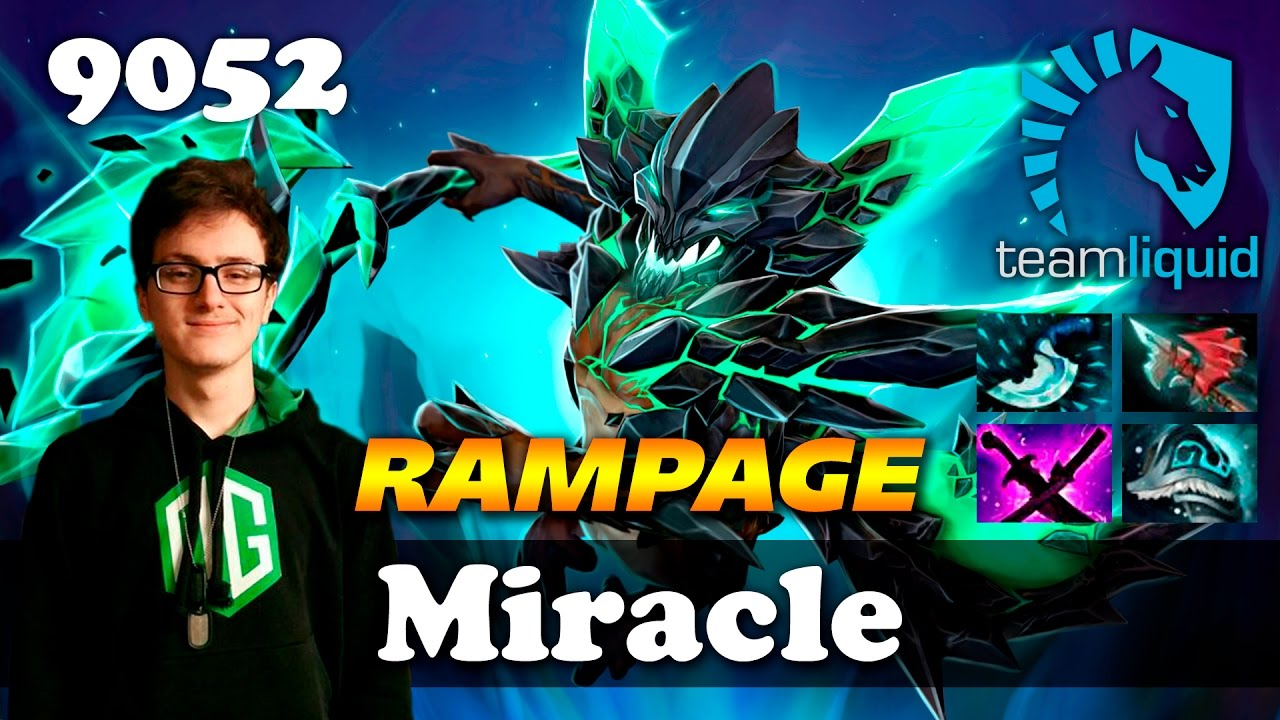 Miracle Od Rampage  Mmr Dota