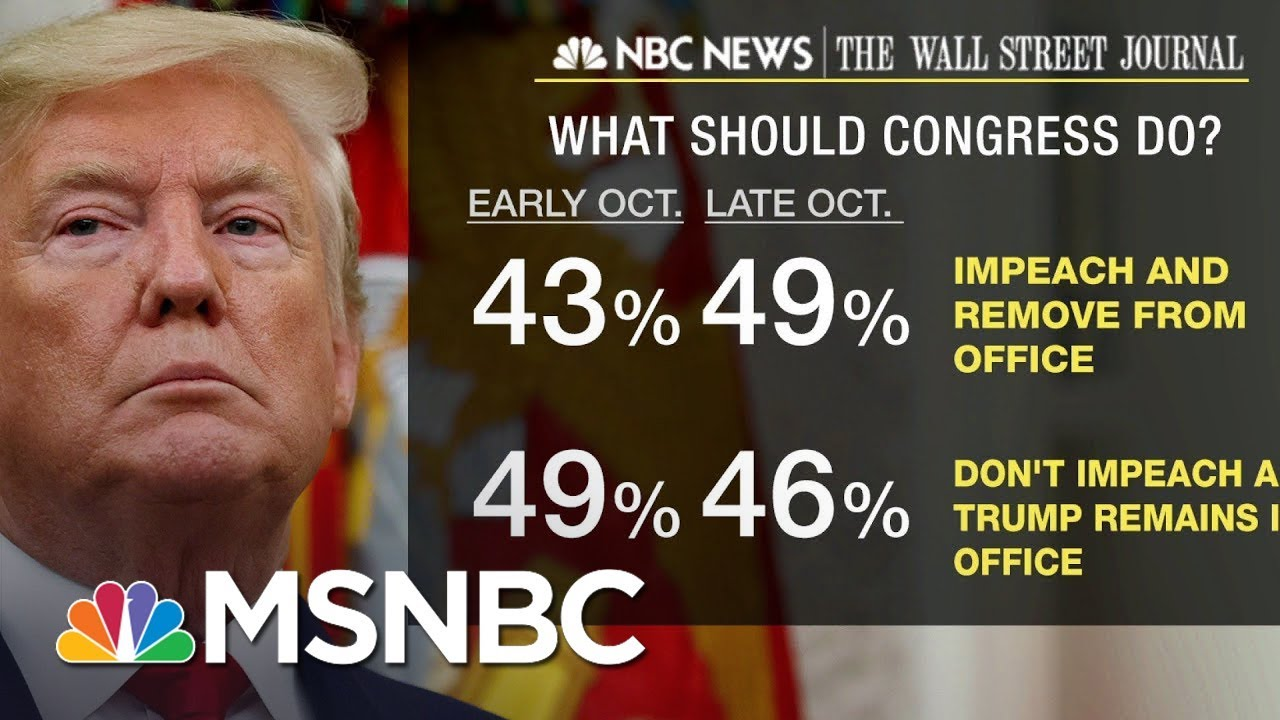 New Polls Show 49% Believe Trump Should Be Impeached, Removed | MSNBC