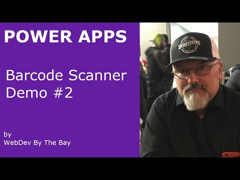 PowerApps Barcode And QR Code Scanner Demo - #2