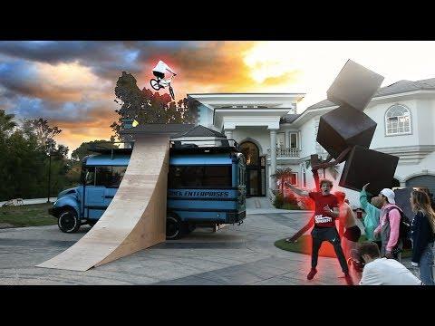 JUMPING LOGAN PAULS COOL BUS!