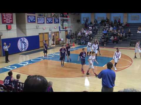 LS Freshman Basketball vs Brookline 12122016