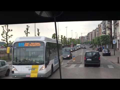 Antwerp Belgium road along the river