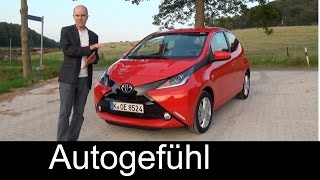 All-new Toyota Aygo 2015 Test Drive Review With Peugeot 108 Citroen C1 Reference - Autogefühl