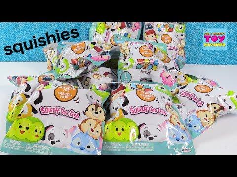 Disney Tsum Tsum SquishDeeLish Squishies Series 1 Toy   PSToys