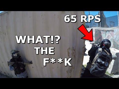 Kid Can't Believe his 65RPS DSG Airsoft Gun!