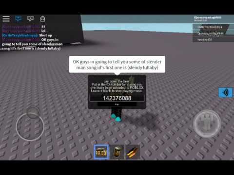 show and tell id roblox