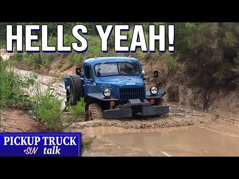 Old School COOL! Off-Road Dirty with 1955 Dodge Power Wagon