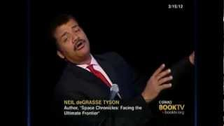 """""""Space Chronicles: Facing the Ultimate Frontier"""" - Neil deGrasse Tyson"""