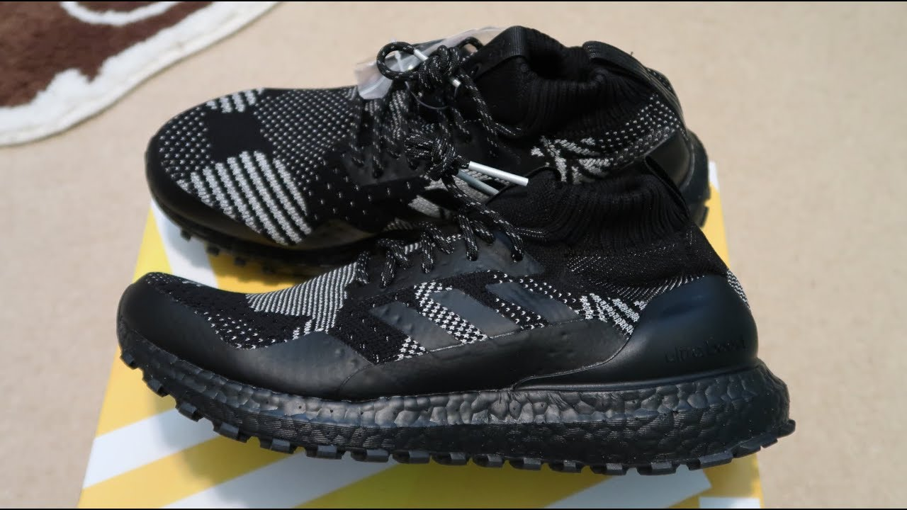 d8da7a1f0 Kith x Nonnative x Ultra Boost Mid ATR Sneaker Unboxing - YouTube
