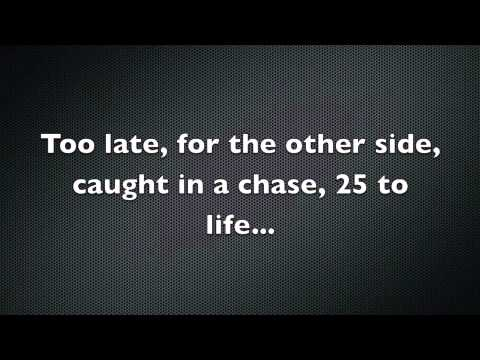 Eminem  25 to Life