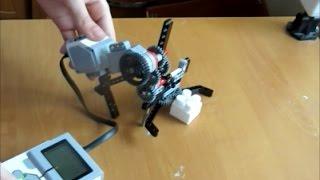 Подъемный механизм 2. Lego Mindstorms Ev3