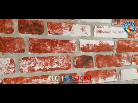 Techstone Romania 2020 - Panouri termoizolante placari fatade Techstone Old Town Red