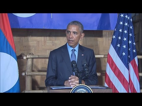 President Obama Delivers Remarks at the COPE Visitor Center