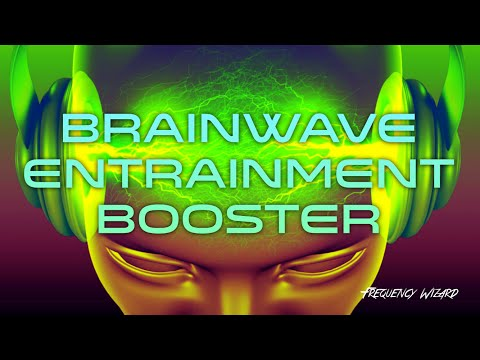 Brainwave Entrainment Booster!! EXTREMELY POTENT! Subliminals Frequencies Theta Alpha Binaural Beat