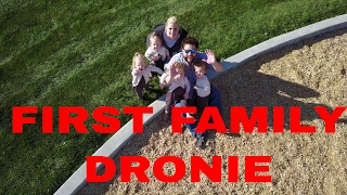 THE GIRLS MEET THE DRONE FOR THE FIRST TIME