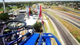 Texas Tornado front seat on-ride HD POV Wonderland Amusement Park
