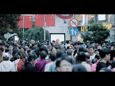 2017上海国庆南京路街拍Frames of Nanjing Road Shanghai - 2017 China National Day