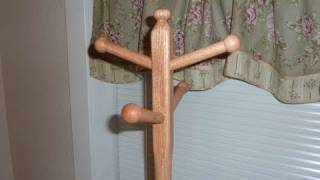Wood Turning Projects Coat Rack