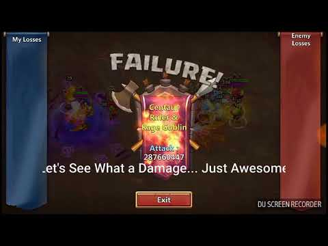Castle Clash / Boss 5 / Best Strategy