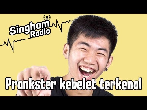 Kenapa Prank di Indonesia Sampah - Radio Singham 4 with David Beatt