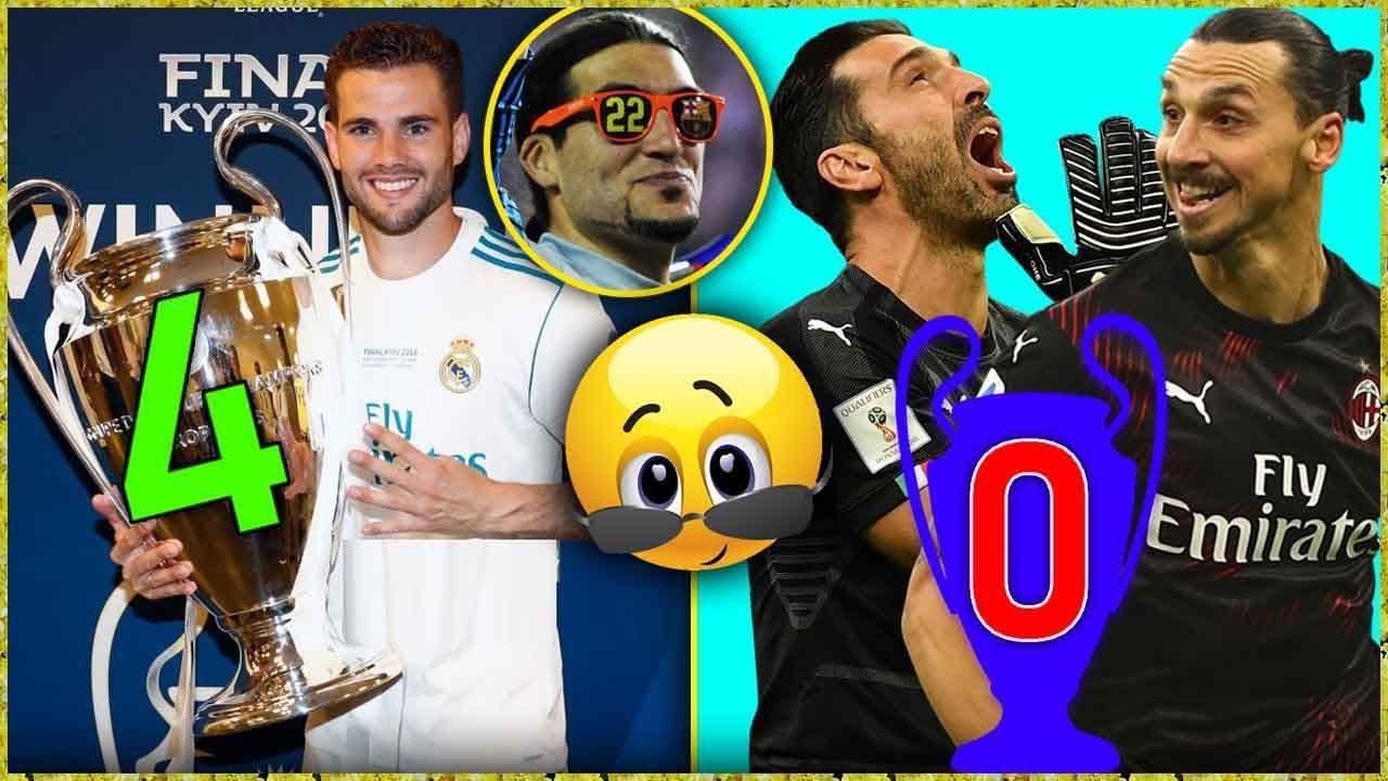 أكثر 10 لاعبين حظاً في عالم كرة القدم !!