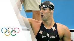 Michael Phelps breaks 200m Freestyle World Record | Beijing 2008 Olympic Games