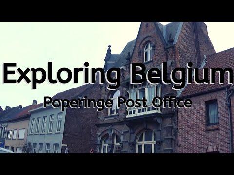 Exploring Belgium: Poperinge - Post Office-